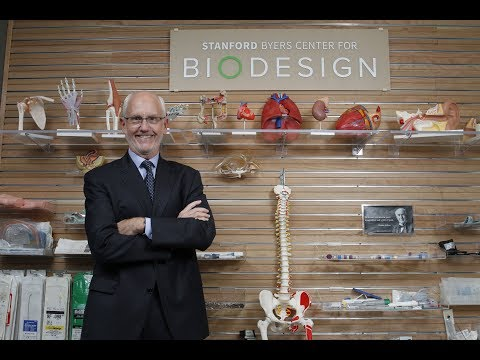 Paul Yock and Stanford Biodesign honored with 2018 Gordon Prize