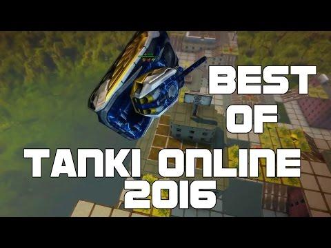 BEST OF TANKI ONLINE 2016 - ЛУЧШИЕ ИЗ ТАНКОВ ОНЛАЙН 2016