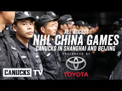 Canucks at the NHL China Games - All Access