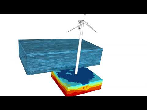 Shear wave velocities - Offshore Wind Farm, Marine Surface Wave Acquisition