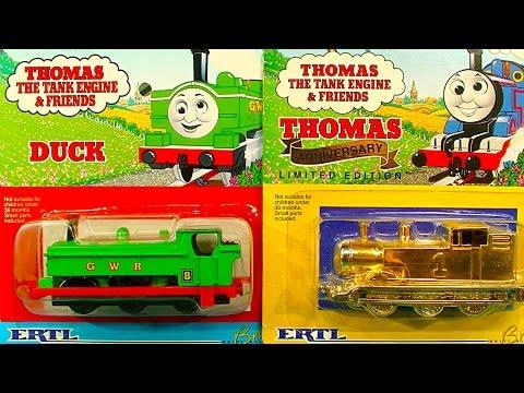 Thomas The Tank Gold ERTL Ebay Scam NOT Mint In Box Fools Gold