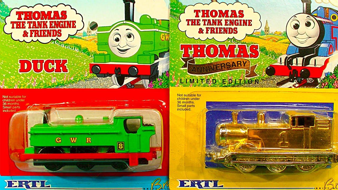 "Thomas Merchandise on Twitter: ""ERTL Miniatures Bill, Ben & Duck ..."