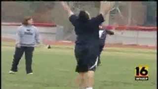 2010 Outback Bowl, WNEP-TV, Penn State Drum Major Segment