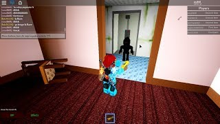 Trying to find guest 666 cm with friends-The haunted hotel-Roblox #1