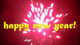Happy New Year New Year& 39 s Eve fireworks Waldenbuch Silvesterfeuerwerk Waldenbuch