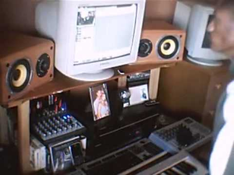 DJ Octopuz In Studio B Loud Records Studio BFN South Africa
