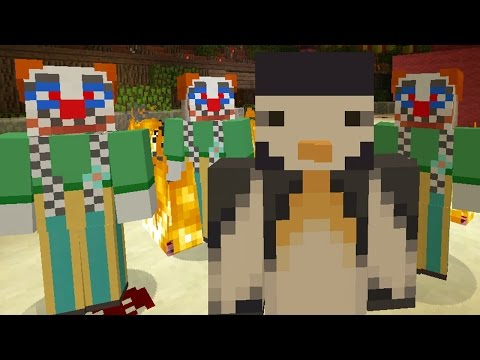 Minecraft Xbox - Murder Mystery - Clown Invasion