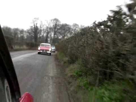 Midget and Sprite Club Yorkshire - Hot X Run 2010 - along Gouthwaite Reservoir