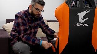 Mi-am luat scaun 🎮AORUS AGC300 - Unboxing si montare #aorus #wasdro