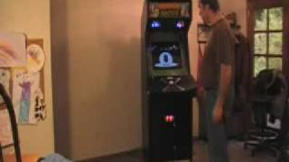 """The Stage"" M.A.M.E Arcade Cabinet and Touch Screen Jukebox"