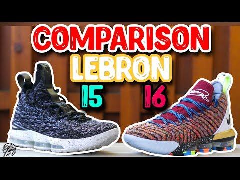 nike-lebron-15-&-lebron-16-comparison!-what's-better?!