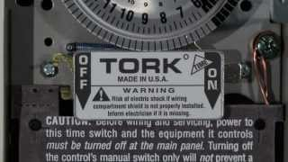 Tork 1101 24 Hour Timer Switch Wiring For 120 Volts Youtube