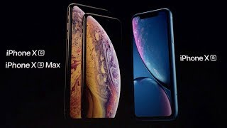 Новые Apple iPhone XS, iPhone XS Max и iPhone XR за 10 минут на русском.