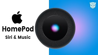 Apple HomePod First Look : Siri & Music the DNA of Apple?
