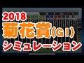 【菊花賞2018】シミュレーションで競馬予想!迷ったらココ☆G1Japan horse racing,hor…