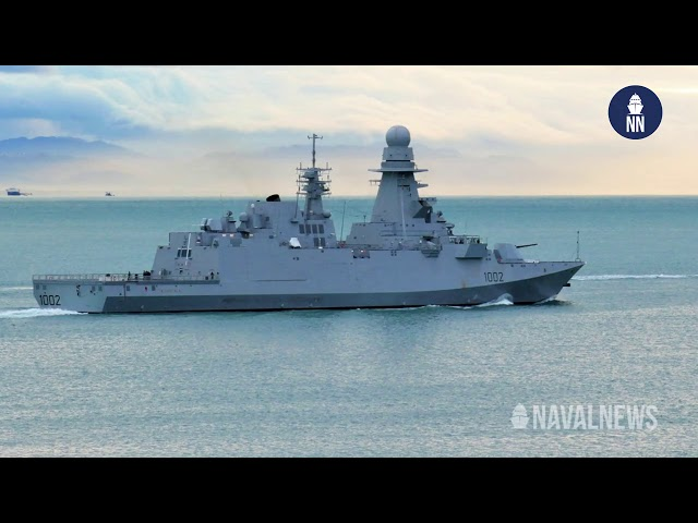 ENS Al Galala (FFG 1002) FREMM Frigate built by Fincantieri Joins Egyptian Navy