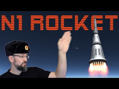 N1 Rocket And INSANE Soviet Plans To Beat Apollo 11 To The Moon