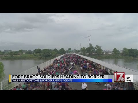 Fort Bragg soldiers among 5,200 troops being sent to US-Mexico border