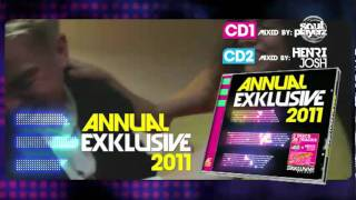 ANNUAL EXKLUSIVE 2011 (Mixed by Soul Playerz & Henri Josh) - Spot Oficial