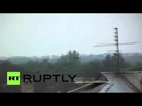 Ukraine: Army helicopters downed in Slavyansk