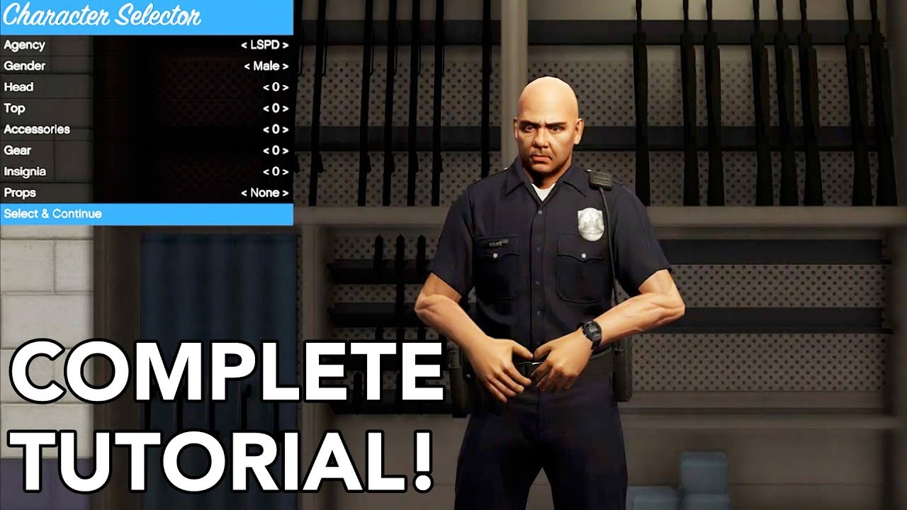 How To Join Police In GTA 5! [2018] (How To Install LSPDFR Mod FULL VOICE  TUTORIAL 2018)