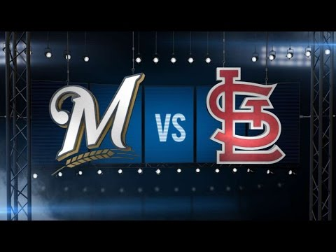 4/13/15: Garza, Brewers spoil Cards' home-opener