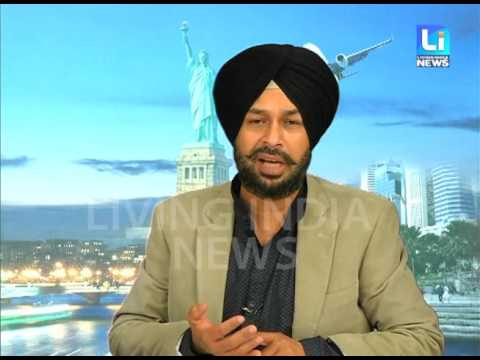 Visa Live Show with Navneet Singh GO Global Immigration Expert on Living India News Channel