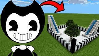 How To Make a BENDY Water Slide in Minecraft PE