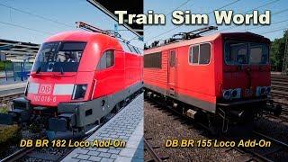 Train Sim World DB BR 182 Loco Add-On / DB BR 155 Loco Add-On