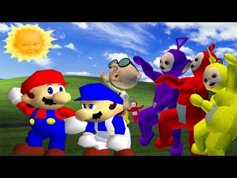 Thumbnail: SM64 Bloopers: Where the Wild Teletubbies are
