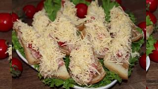 Фото Закусочные бутерброды которые ОБЯЗАТЕЛЬНО нужно поставить на новогодний стол Наши традиционные