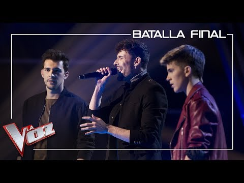 Marlo, Ángel y Leo, cantan 'Writing's on the wall' | Batalla final | La Voz Antena 3 2019