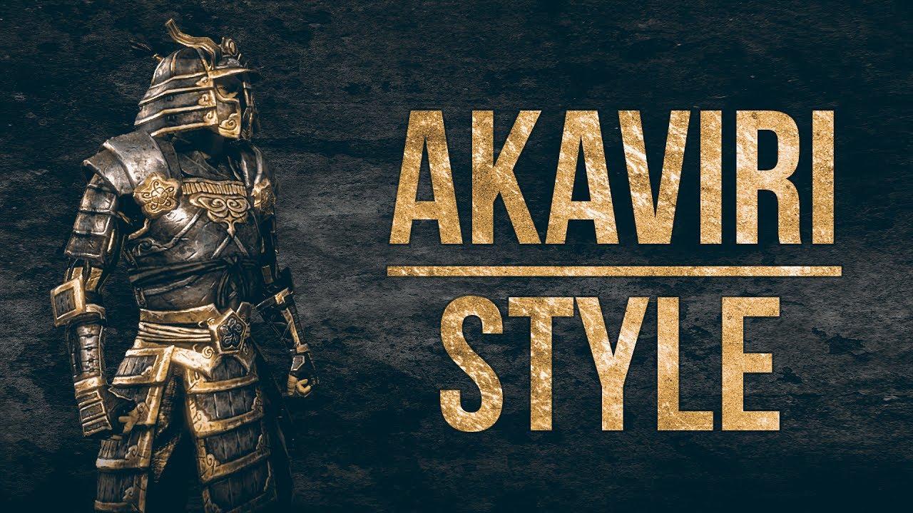 Eso Akaviri Motif Armor Amp Weapon Showcase Of The Akaviri