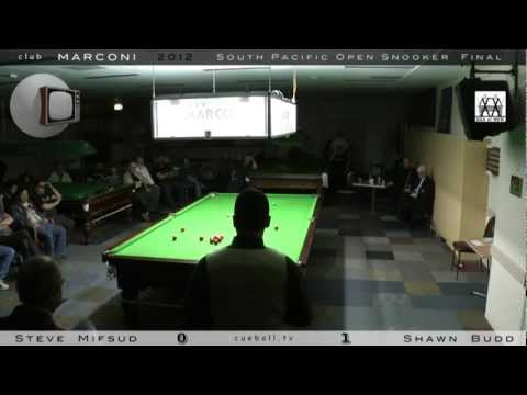 Club Marconi South Pacific Open Snooker