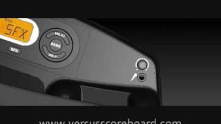 VERSUS Scoreboard - Portable Electronic Scoreboard and MP3 Audio Player