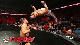 The Underdog from the Underground faces The Miz for the right to be...