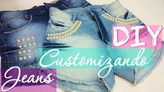 Como Customizar seu Jeans de Modo Rápido e Fácil