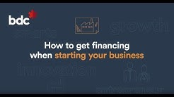 How to get financing when starting a business