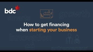 How to obtain financing for a startup business