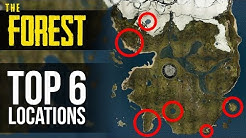 TOP 6 BASE LOCATIONS! The Forest
