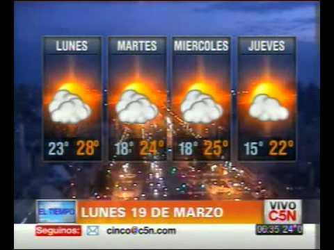 C5N - EL TIEMPO EN BUENOS AIRES