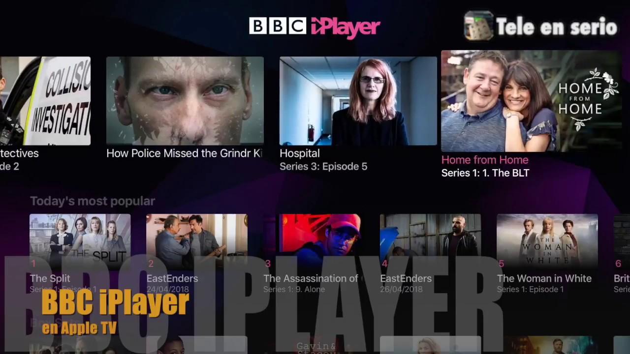 BBC iPlayer para Apple TV