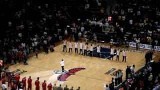 Keri Hilson messes up the National Anthem at the Lakers vs. Hawks game!