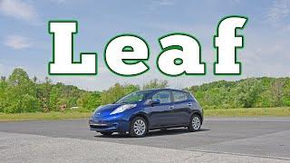 homepage tile video photo for 2016 Nissan Leaf: Regular Car Reviews