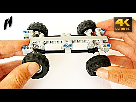 How to Build the Tatra Suspension with Torsion Bar (Lego Technic MOC)
