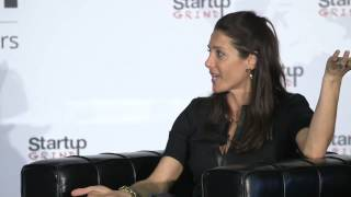 Jessica Herrin (Stella & Dot) and Alfred Lin (Sequoia Capital) at Startup Grind 2014