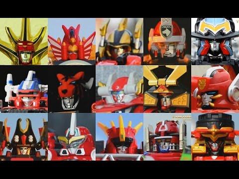 All Main DX Gattai Super Sentai Robot! Timeranger - Ninninger! 2000-2015! スーパー戦隊シリーズ ロボ