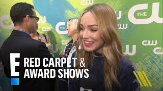"""Legends of Tomorrow"" Star Caity Lotz Talks Captain Canary | E! Red Carpet & Award Shows"