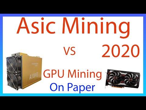 GPU Mining VS. ASIC Mining