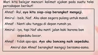Download Mp3 Kelas 2 Tema 1 Subtema 2 Bahasa Indonesia Kalimat Ajakan